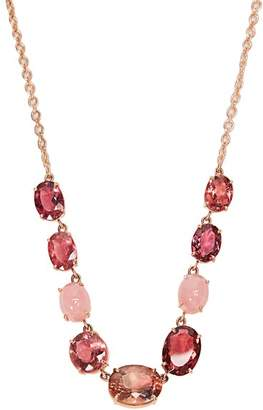 Irene Neuwirth Opal, Tourmaline & Rose Gold Necklace - Womens - Pink