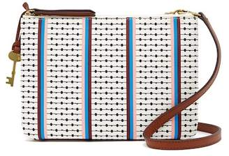 Fossil Devon Multi-Stripe Crossbody Bag