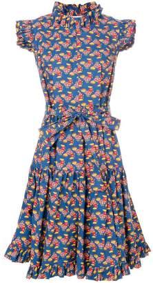 DAY Birger et Mikkelsen La Doublej flared chicken print dress