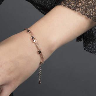 4554d3a3b692d Martha Jackson Sterling Silver Sterling Silver Three Strand Heart Bracelet
