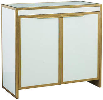 Clifton Bar Cabinet - Gold/White - Lillian August