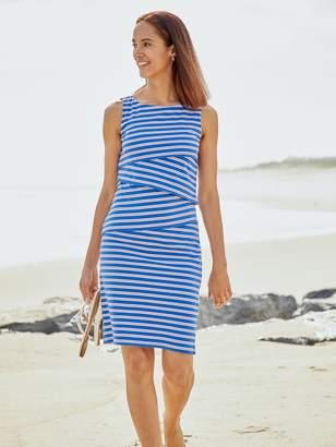Nicola Sleeveless Dress in Antibe Stripe