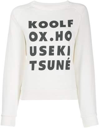 MAISON KITSUNÉ Kool Fox sweatshirt
