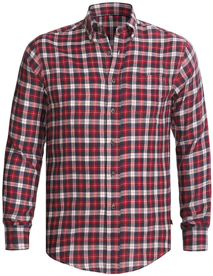 Dakota Grizzly Clark Plaid Shirt - Flannel, Long Sleeve (For Tall Men)