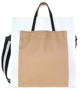 3.1 Phillip Lim Leather Accordion Tote Bag