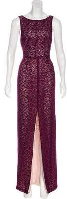 Alice + Olivia Lace Evening Dress