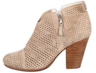 Rag & Bone Margot Perforated Ankle Boots