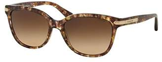 Coach HC8132 HC/8132 5287/13 Confetti Light Brown Fashion Sunglasses 57mm