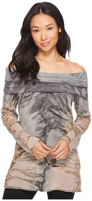 Hard Tail Sexy Shoulder Pullover Women's Clothing