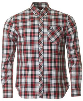 Fred Perry Re-issues Long Sleeved Tartan Shirt