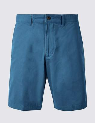 Marks and Spencer Big & Tall Pure Cotton Chino Shorts