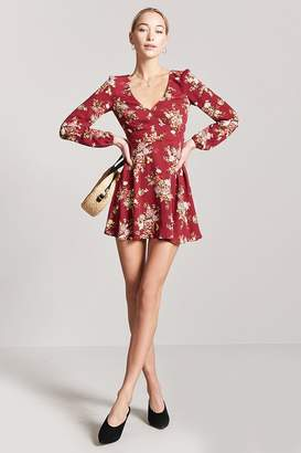 Forever 21 Floral Woven Mini Dress