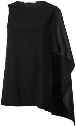 Rosetta Getty cape sleeve top