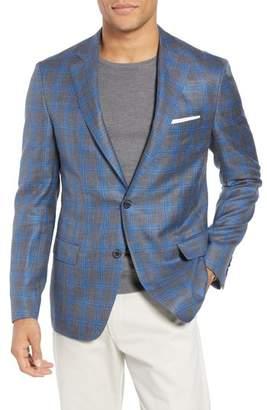 Blend of America Samuelsohn Garner Classic Fit Plaid Wool Sport Coat