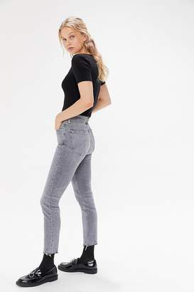 A Gold E AGOLDE Nico High-Waisted Skinny Jean – Risk