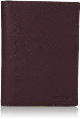 Jack Spade Men's Barrow Leather Passport Wallet