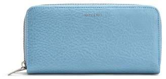 Matt & Nat Sublime Double Zip Around Vegan Leather Wallet