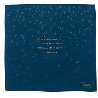 Coveted Things Stars Organic Cotton Swaddle Cloth