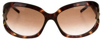 Jimmy ChooJimmy Choo Tinted Tortoiseshell Sunglasses