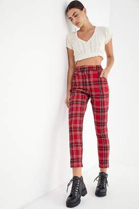 Urban Outfitters Cece Plaid Mom Pant