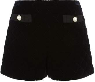 Claudie Pierlot Quilted Shorts