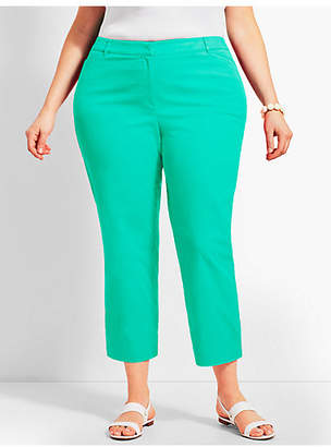 Talbots The Perfect Crop - Curvy Fit