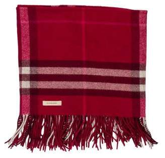 Burberry House Check Wool Cashmere Snood