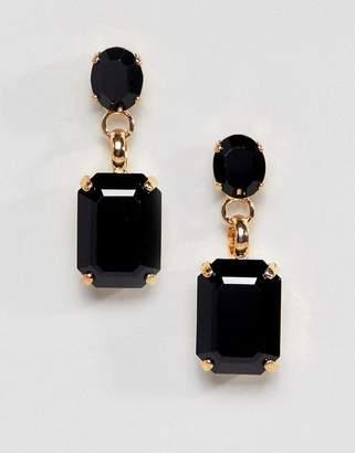 Krystal London drop stud earrings