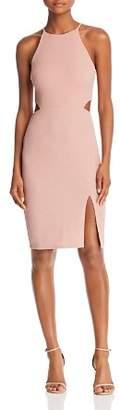 Aqua Shine Cutout Dress - 100% Exclusive