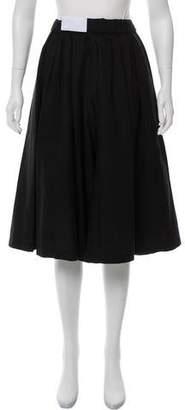 Assembly Black Wide-Leg Culottes
