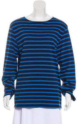 Saint James Striped Long Sleeve Top