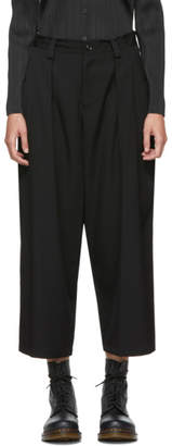 Y's Ys Black Big Pocket Trousers