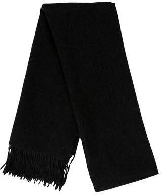 Prada Fringe-Trimmed Wool Scarf