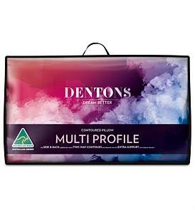 Dentons Multi Profile Contured Pillow