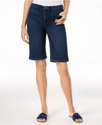 Maison Jules Bermuda Denim Shorts, Created for Macy's