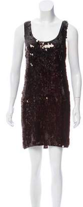 Diane von Furstenberg Pellina Sequined Mini Dress w/ Tags