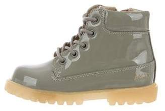 Akid Kids' Patent Leather Boots