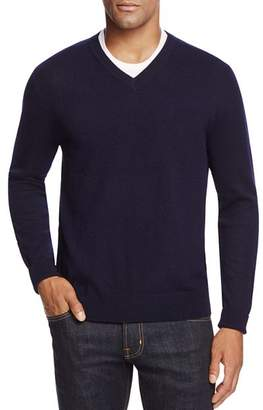 Bloomingdale's The Men's Store at Cashmere V-Neck Sweater - 100% Exclusive