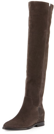 Ash Ash Jess Suede Over-the-Knee Boot, Bistro