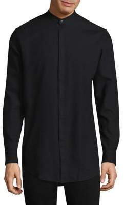 J. Lindeberg Refined Collarless Button-Down