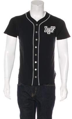 Lucien Pellat-Finet Leaf Baseball Jersey T-Shirt