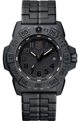 Mens 3500 Series Navy Seal Blackout Watch A3502.BO