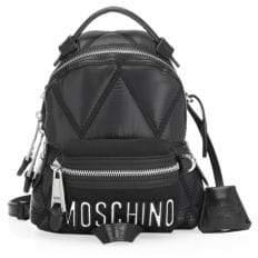Moschino Mini Logo Backpack