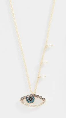 Meira T 14k Evil Eye Necklace