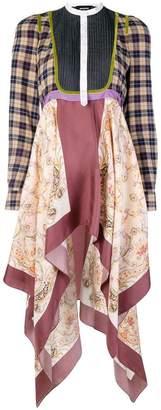 DSQUARED2 asymmetric scarf dress