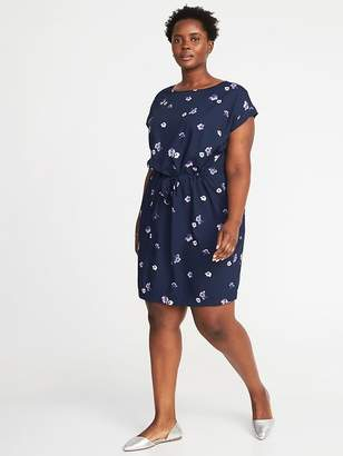 Old Navy Waist-Defined Plus-Size Dress