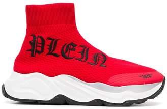 Philipp Plein hi-top sock sneakers