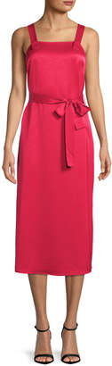 Armani Exchange Women's Belted Midi Dress