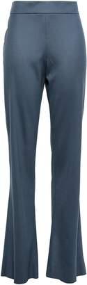 Giorgio Armani Stretch-wool Flared Pants