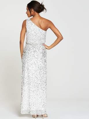 Very One Shoulder Sequin Bridesmaid Dress